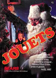 Sears Noël - Jouets 1987
