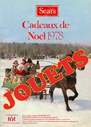 Sears Noël - Jouets 1978