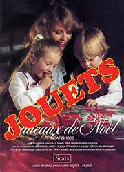 Sears Noël - Jouets 1983