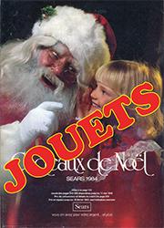 Sears Noël - Jouets 1984