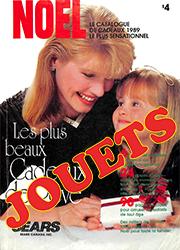 Sears Noël - Jouets 1989